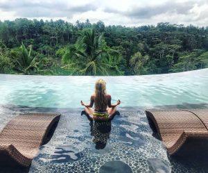 Ubud bali - wanna jungle pool bar
