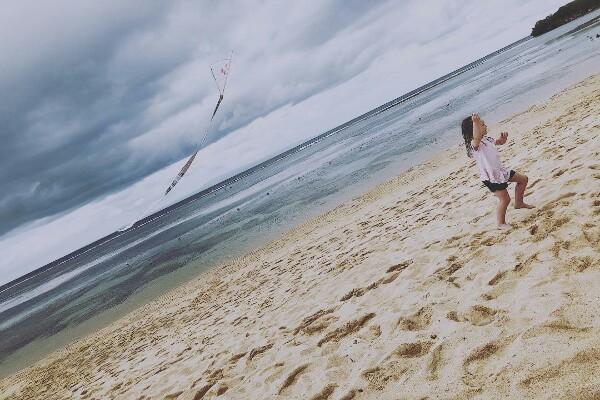 Pantai Nusa Dua Bali ramah Anak Tripbaligo