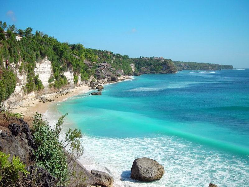 Surga Wisata Bawah Laut Pantai Blue Lagoon Karangasem Padang Bai