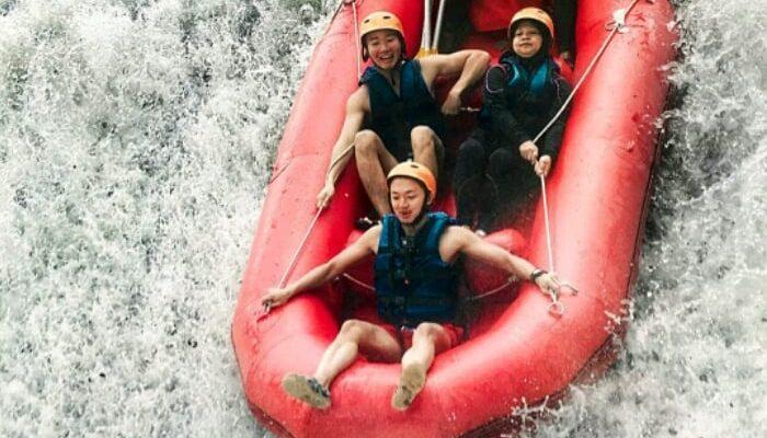 Lokasi Telaga Waja Rafting Bali